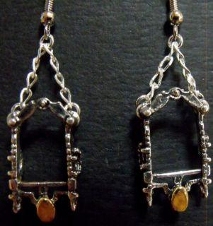 life Detailed Sterling silver Spade bit earrings As Cute as it Gets