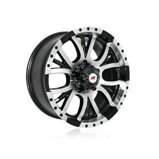 17x8 Sendel S13 (Black / Machined) Wheels/Rims 5x135 (S13 78075BM