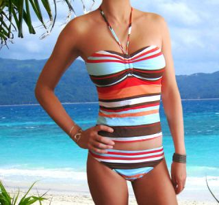 Leilani Roxy Bandeau Swimwear Tankini Swimsuit Swimwear Bathing Suit