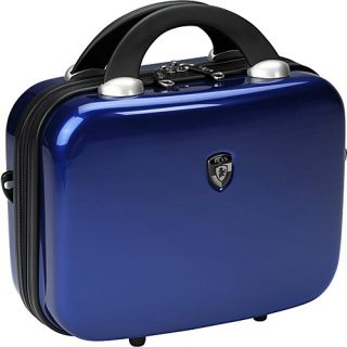 click an image to enlarge heys usa vcase 12 beauty case metallic blue