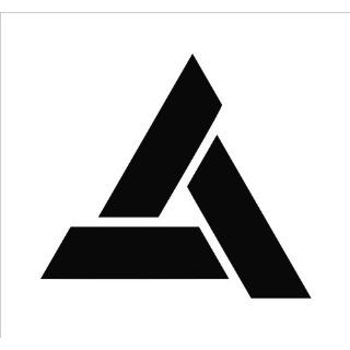 Assassins Creed Abstergo Logo Vinyl Die Cut Decal Sticker