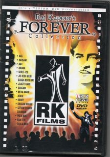 HINDI INDIAN SONGS DVD RAJ KAPOORS FOREVER COLLECTION ** MUST HAVE