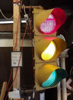 Crouse Hinds traffic light signal Philadelphia Salvage Company