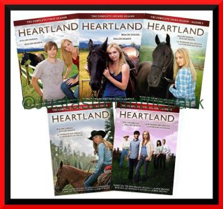 Heartland TV Series Collection   Complete DVD Seasons 1 2 3 4 5 BRAND