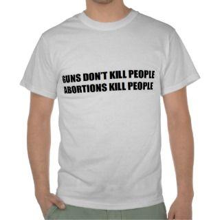 pro guns conservative: GUNS DONT KILL PEOPLE Tee Shirt
