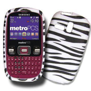 Black & White Zebra Design Samsung Freeform TPU Skin Cover