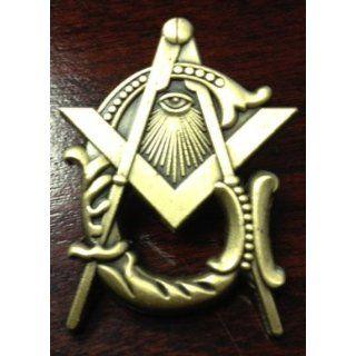 1 Masonic Square and Compass Lapel Pin