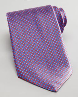 silk tie red available in blue $ 200 00 stefano ricci mini flower silk