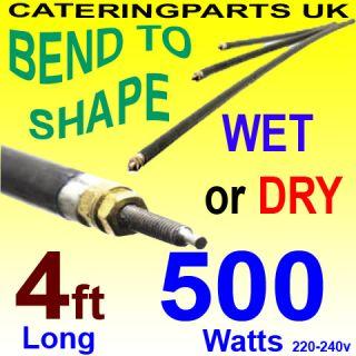 HE4805 48 1220mm 500W 0 5KW 240V Rod Heating Elements