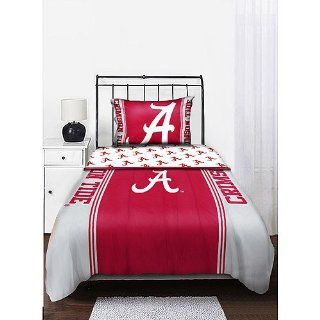 Alabama Crimson Tide NCAA Queen Comforter & Sheet Set (5