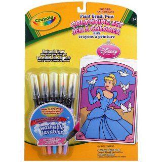 Disney Princess Crayola Coloring Set [Paint Brush Pens