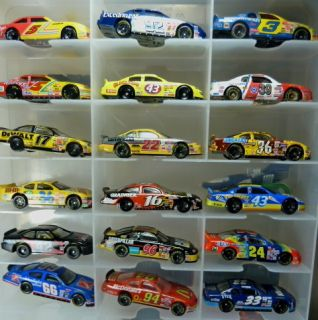 18 Racing Champions Hot Wheels More NASCAR Diecast Car Lot Nice