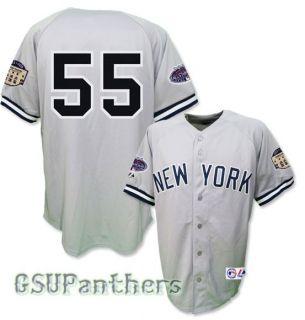 Hideki Matsui 2008 New York Yankees All Star Grey Road Jersey Mens Sz