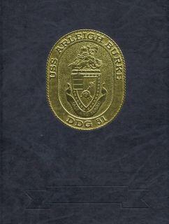 USS Arleigh Burke DDG 51 Aegis Destroyer History Book ★★★