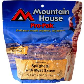 Mountain House Pro Pak Spaghetti with Meat Sauce 2 Person Freeze Dried
