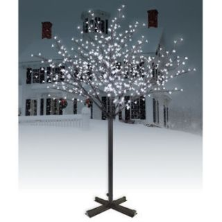 Philips 7 Lighted Holiday Blossom Christmas Tree   600 Cool White LED