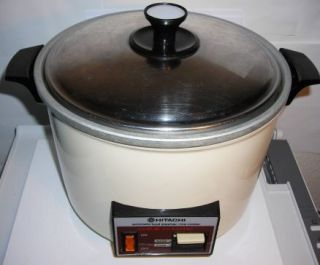 Hitachi Chime O Matic Rice Cooker RD 5083 Large 8 3 Cup