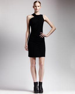 T5Q1S Rick Owens Asymmetric Draped Jersey Dress