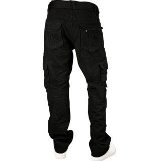 Utility Cargo Pants Slim Fit Black. Size 36 x 32 Sports & Outdoors