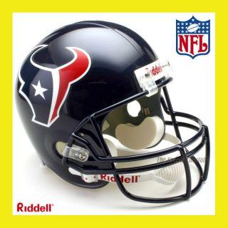 Houston Texans NFL Deluxe Replica Full Size Football Helmet by Riddell
