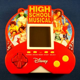 High School Musical Electronic Handheld Video LCD Toy Game Zizzle