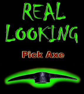 PICKAXE HEAD   HORROR COSTUME HALLOWEEN Pick Axe PROPS Corpse Movie