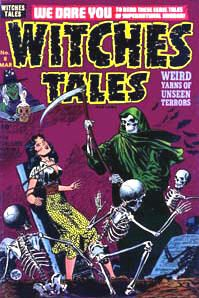 28 Witches Tales Comics Books on DVD Horror Monster Golden Age