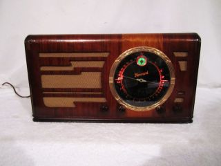 1938 Howard Radio Model H 1680 6 Tube Antique Electric Radio