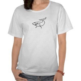 AC  Whale sketch shirt