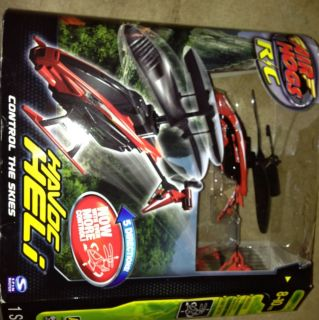 Air Hogs HAVOC HELI Indoor R C Helicopter NEW Remote Control Red