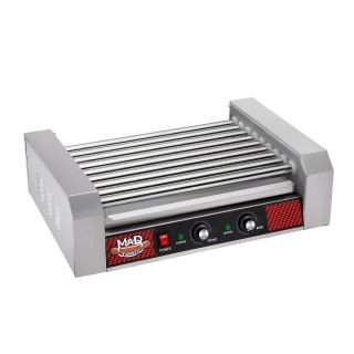 Great Northern Popcorn Commercial 24 Hot Dog 9 Roller Grilling Machine