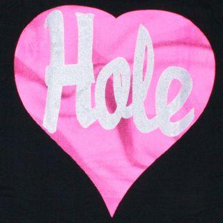 Hole T Shirt Grunge Rock Cobain Love Live Through This