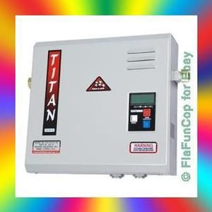 Titan N 210 Digital Tankless Hot Water Heater Fast  2012