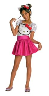 Child Hello Kitty Tutu Dress Costume Kids Girls Size Large 12 14 for