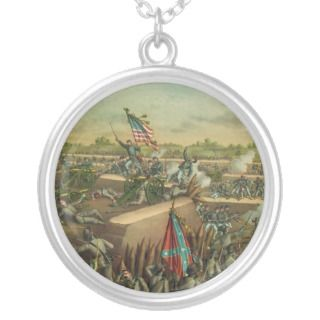 American Civil War Siege and Fall of Petersburg Custom Necklace