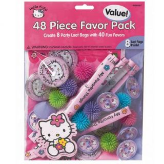 Hello Kitty Balloon Dreams Birthday Party Favor Pack Supplies