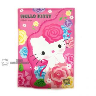 Hello Kitty Planner Scheduler Organizer Pink Flowers