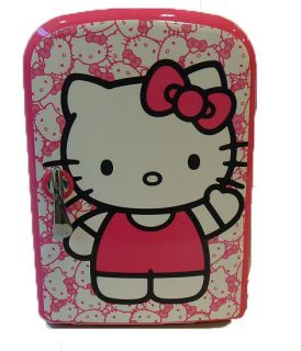 Sanrio Hello Kitty Personal Mini Fridge Dorm Refrigerator Tiny Kitchen