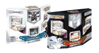 Black White Reshiram Zekrom Box Emerging Powers w Online Cards