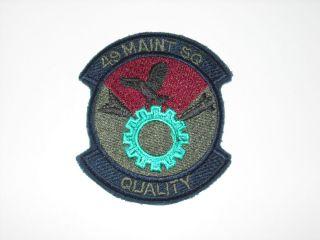 AIR FORCE 49TH MAINTENANCE SQUADRON 49 MXS F 117 HOLLOMAN VER #1 PATCH