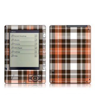 Copper Plaid Design Protective Decal Skin Sticker for