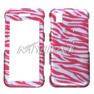 SAMSUNG R810 (Finesse), Zebra Skin/Hot Pink (2D Silver