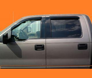 Chevy Silverado Vent Window Shades Visors Rain Guards