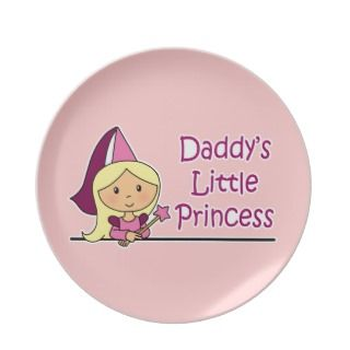 Daddys Little Princess Plate