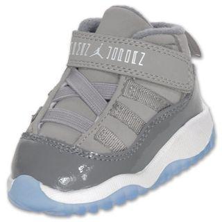 Boys Toddler Air Jordan Retro 11 Medium Grey/White