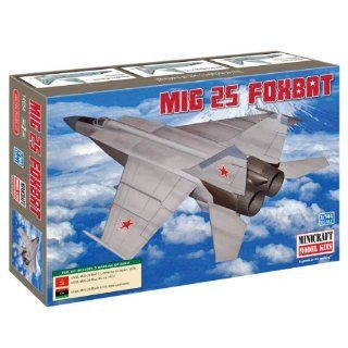 Minicraft MIG 25 Foxbat 1/144 Scale with 3 Marking Options
