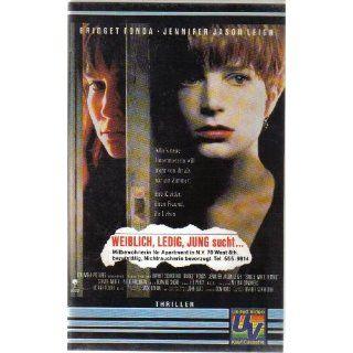 Single White Female [VHS]: Bridget Fonda, Jennifer Jason