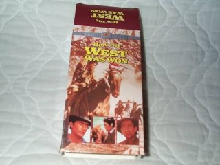 How The West Was Won VHS Henry Fonda James Stewart 012569508538