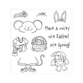 Stampers Anonymous Inky Antics Clear Stamp Set Easter