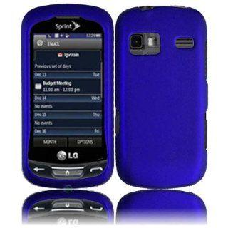 VMG LG Rumor REFLEX LN272 Hard Case Cover   BLUE Hard 2 Pc